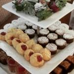 gluten -free high tea treats tower