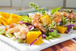 Prawn&Mango salad